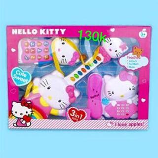Bộ đàn 3 món kitty cho bé yêu g hàng nhập