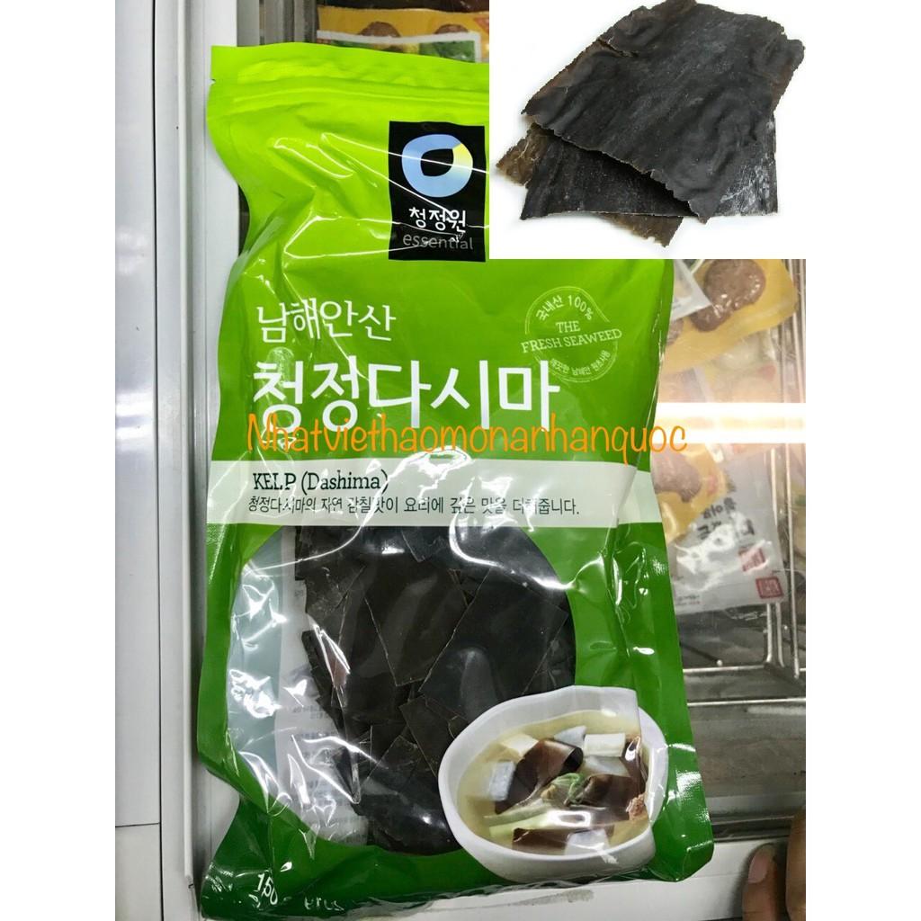 Tảo bẹ Dashima nấu nước dùng Hàn Quốc 150gr - 3552854 , 1328340232 , 322_1328340232 , 115000 , Tao-be-Dashima-nau-nuoc-dung-Han-Quoc-150gr-322_1328340232 , shopee.vn , Tảo bẹ Dashima nấu nước dùng Hàn Quốc 150gr