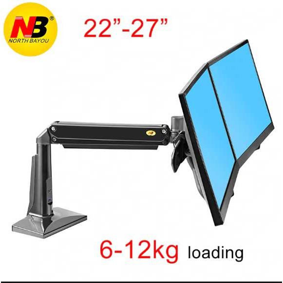 Bảng giá Giá treo hai màn hình máy tính F27 ( 22-27 inch)- Hàng nhập khẩu Phong Vũ