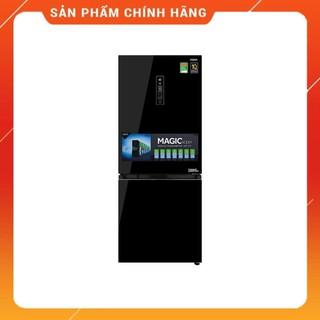 [ Miễn phí giao và lắp đặt nội thành Hà Nội ] Tủ lạnh Aqua Inverter 260 lít AQR-IG298EB.GB