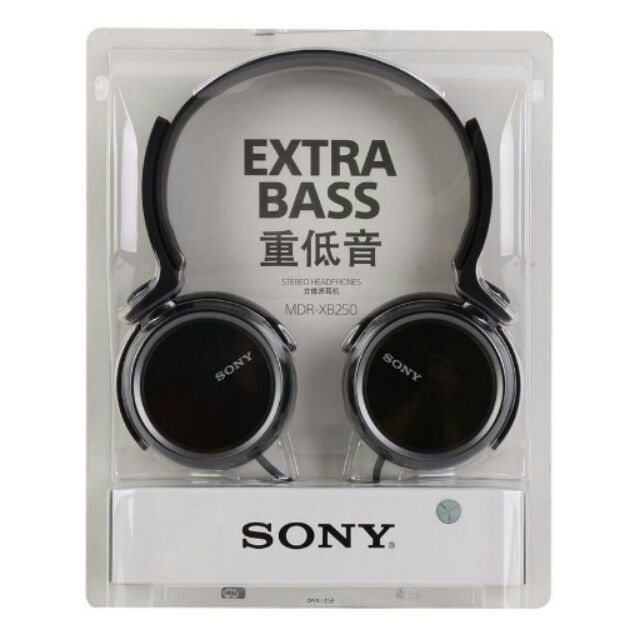 Tai nghe sony mdr xb250