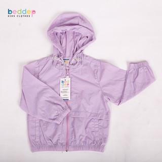 Áo khoác gió trơn Unisex Beddep Kids Clothes cho bé trai và bé gái từ 1 đến 8 tuổi U02 thumbnail