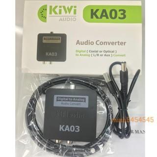 Bộ chuyển đổi optical chính hãng KIWI KA03 chính hãng - BH 12 tháng