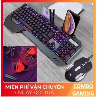 [COMBO GAMING] Bộ Bàn Phím K618 Chuột V5 Và Tai Nghe Gaming G10 Cực Đẹp & Chất Lượng thumbnail