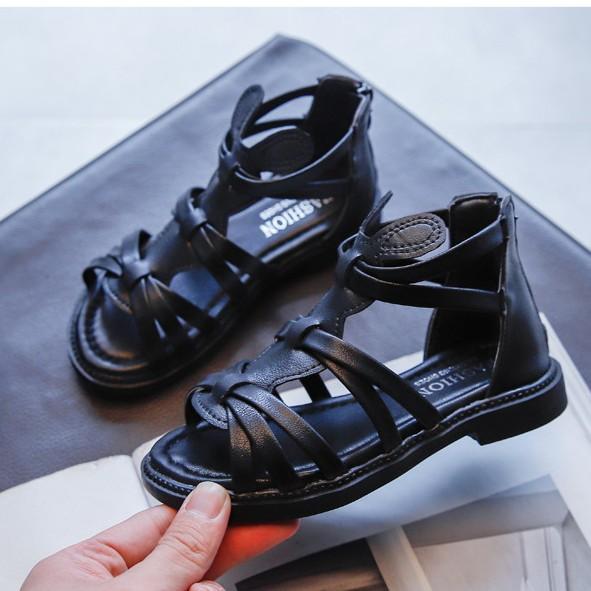 sandal bé gái size 26-36 khóa kéo xinh xắn