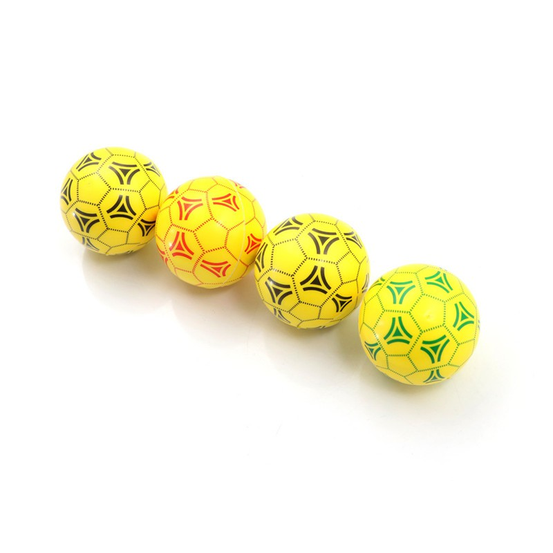 1PC Yellow Mini Football Squeeze Foam Ball Stress Relief Vent Ball Kids
