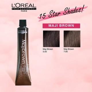 LOREAL Dầu dưỡng MAJIREL MAJIREL 50ML Kẹp tóc COLOR Thuốc nhuộm tóc màu sắc thời trang thumbnail