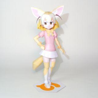 Mô hình giấy anime girl Fennec-chan