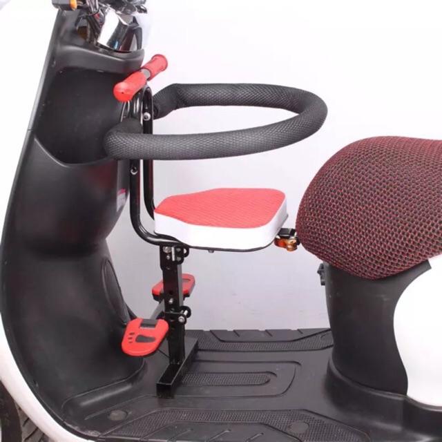[ ORDER - NỘI ĐỊA TRUNG ] Ghế ngồi xe máy điện, xe máy tay gas để chân cỡ rộng, gấp gọn