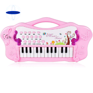 Toy Piano Learning Soft Keyboard Children Portable Kids Piano,Pink