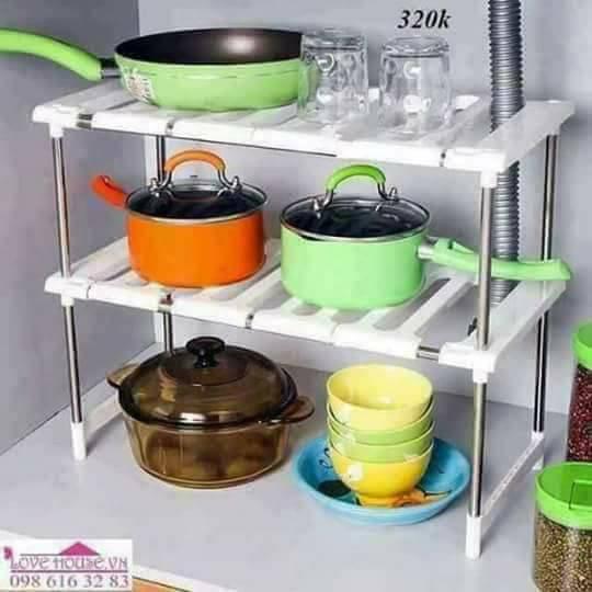 Kệ gầm bếp đa năng - 3430397 , 695038416 , 322_695038416 , 160000 , Ke-gam-bep-da-nang-322_695038416 , shopee.vn , Kệ gầm bếp đa năng