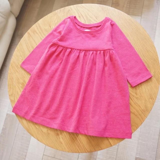 Áo váy bé gái BabyGAP hàng xuất (hồng cánh sen)