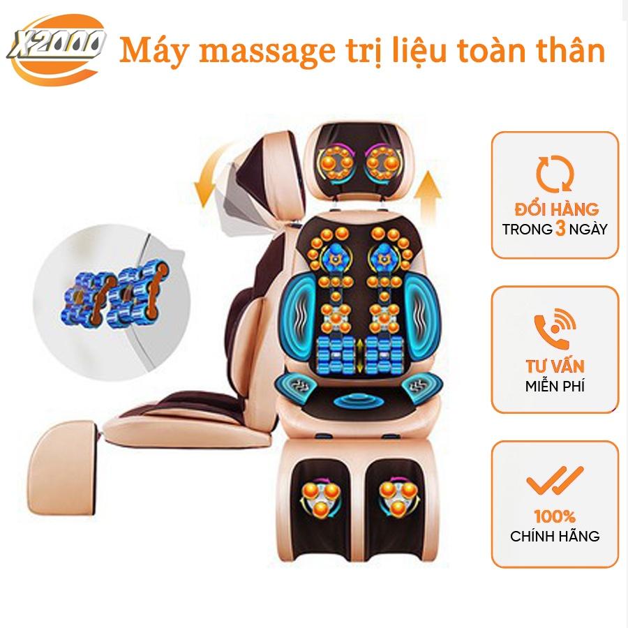 Ghế Massage Trị liệu Hồng ngoại, Ghế Massage Toàn Thân Xoa Bóp Ấn Huyệt Giảm Đau Xương Khớp