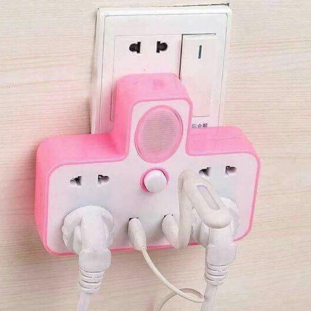 Ổ CẮM ĐIỆN KÈM USB VÀ ĐÈN NGỦ