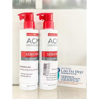 SEBIONEX CLEANSING GEL ACM - Gel rửa mặt cho da mụn, da nhờn 200ml (CHÍNH HÃNG Làn Da Đẹp)