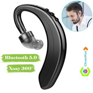 Tai Nghe Bluetooth Không Dây Móc Vành Tai (rảnh tay lái xe cho tài xế, shipper,..)   Tai Nghe Nhét Tai Bluetooth