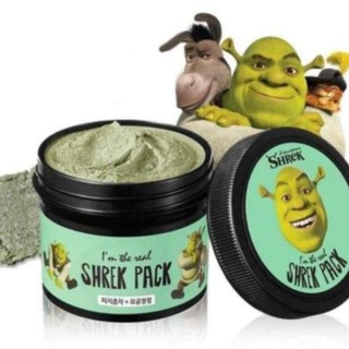 [BẢN NHẬP KHẨU] Mặt nạ đất sét bạc hà Shrek Pack