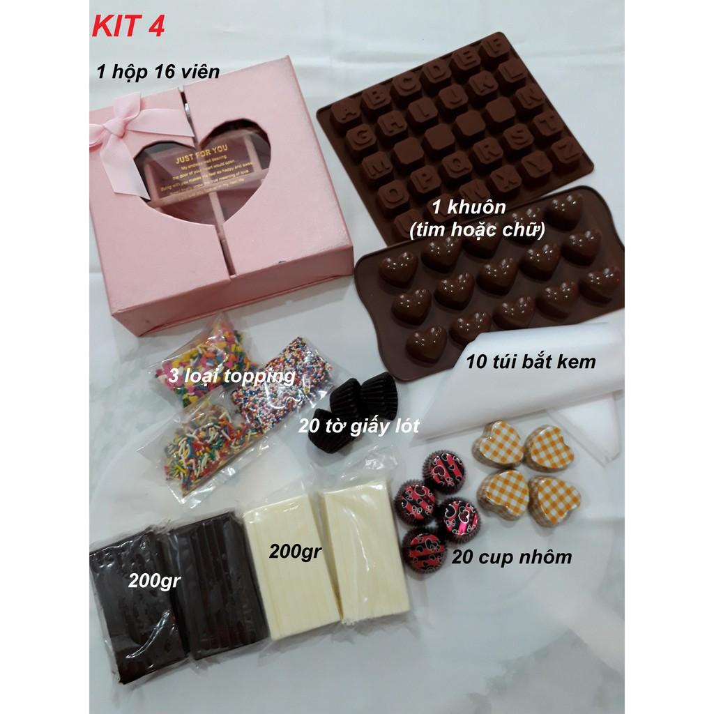 Bộ làm chocolate/ socola KIT4 - 2962957 , 868086335 , 322_868086335 , 170000 , Bo-lam-chocolate-socola-KIT4-322_868086335 , shopee.vn , Bộ làm chocolate/ socola KIT4