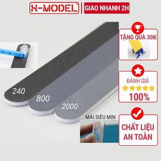 Bộ 3 thanh dũa mô hình chuyên dụng gundam dũa mài nhám mô hình 1186 Tool lắp ráp đồ chơi Anime Nhật Bản X-MODEL thumbnail