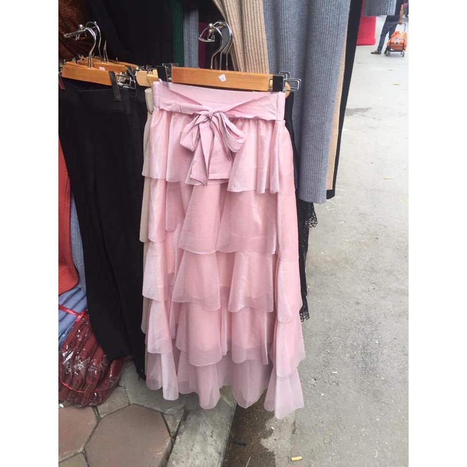 Nhập WASBC giảm 9K cho đơn từ 99K_ [RẺ VÔ ĐỊCH] Chân váy tầng loại 1 QC (kèm ảnh thật₫