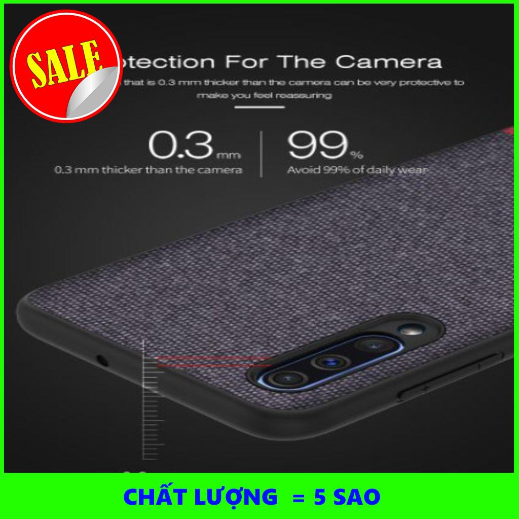 [5SAO]  Ốp lưng Samsung Galaxy A70 Chống sốc vải da mềm cao cấp