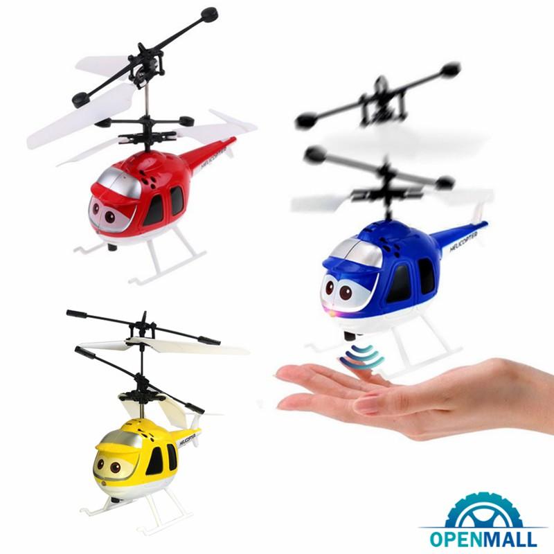 Đồ chơi máy bay trực thăng điều khiển từ xa có đèn LED thiết kế đáng yêu bắt mắt