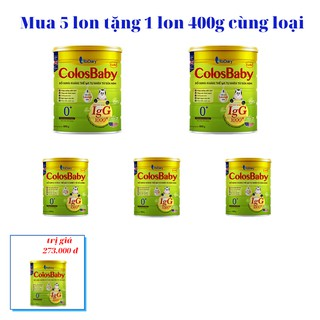 [Mua 5 tặng 1] Sữa bột COLOSBABY GOLD 0 800G-ib giá ưu đãi