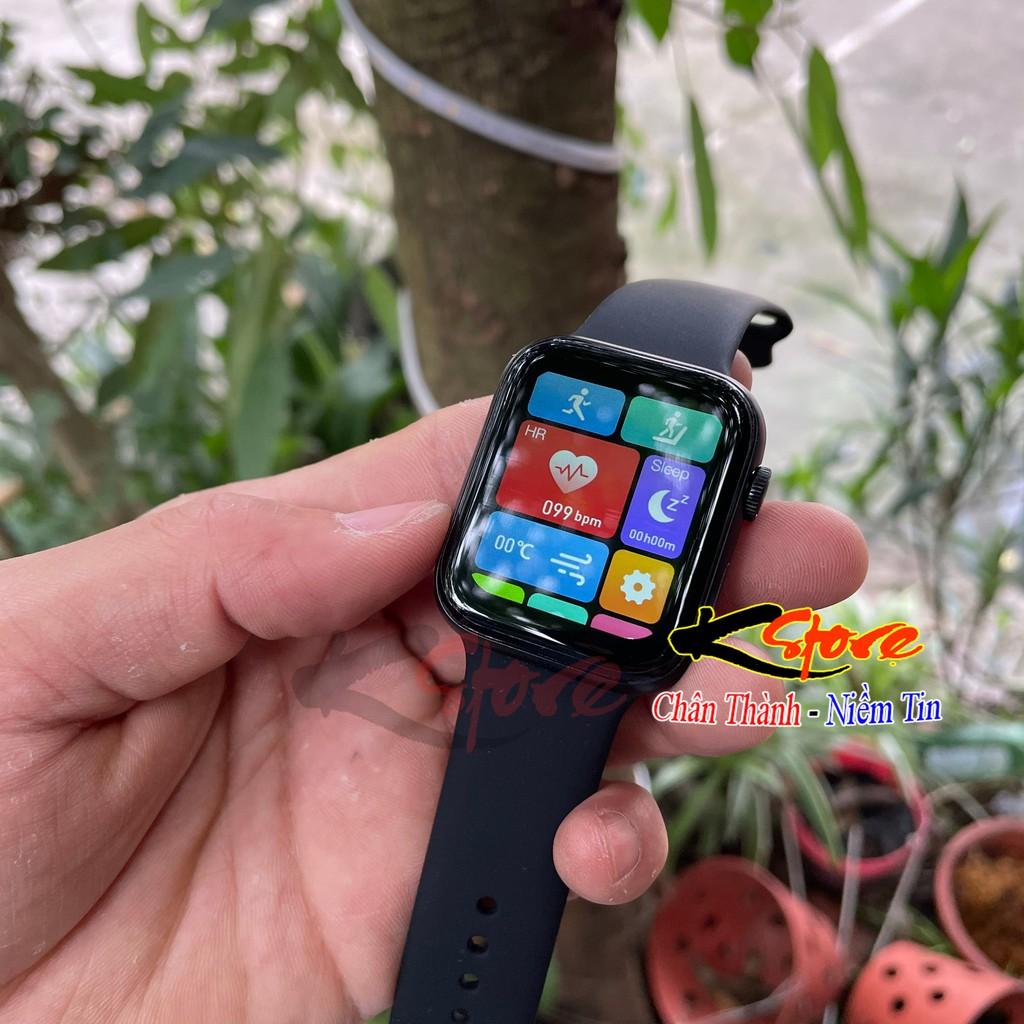 Đồng hồ thông minh Watch 6 Pro Seri 6, Màn hình cảm ứng cân đối, Cảm ứng siêu mượt giá rẻ nghe gọi 2 chiều bluetooth