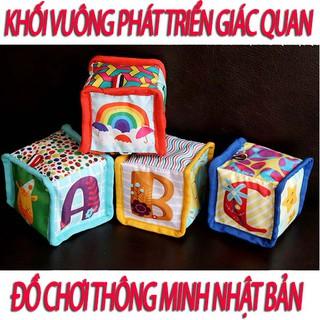 Yêu ThíchKhối vuông kích thích giác quan- đồ chơi cho trẻ sơ sinh