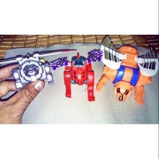 Bộ 3 con linh thú lắp ráp thành siêu nhân Gao