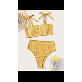 Bộ đồ bơi Vàng chấm bi - SHEIN thumbnail
