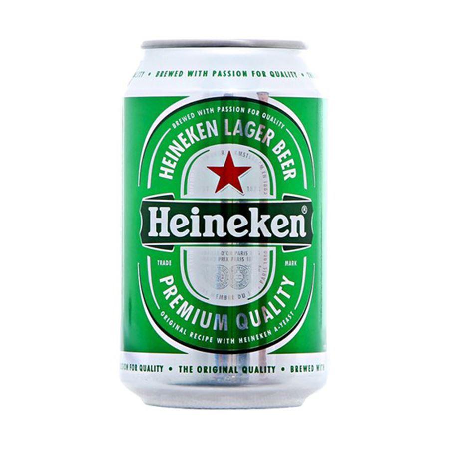 [Mã GRO1HNK11 giảm 20K đơn 300K] Thùng bia Heineken 24 lon thường 330ml/lon