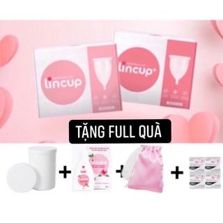 [ Tặng full quà] Cốc Nguyệt san Lincup chính hãng 100% thumbnail