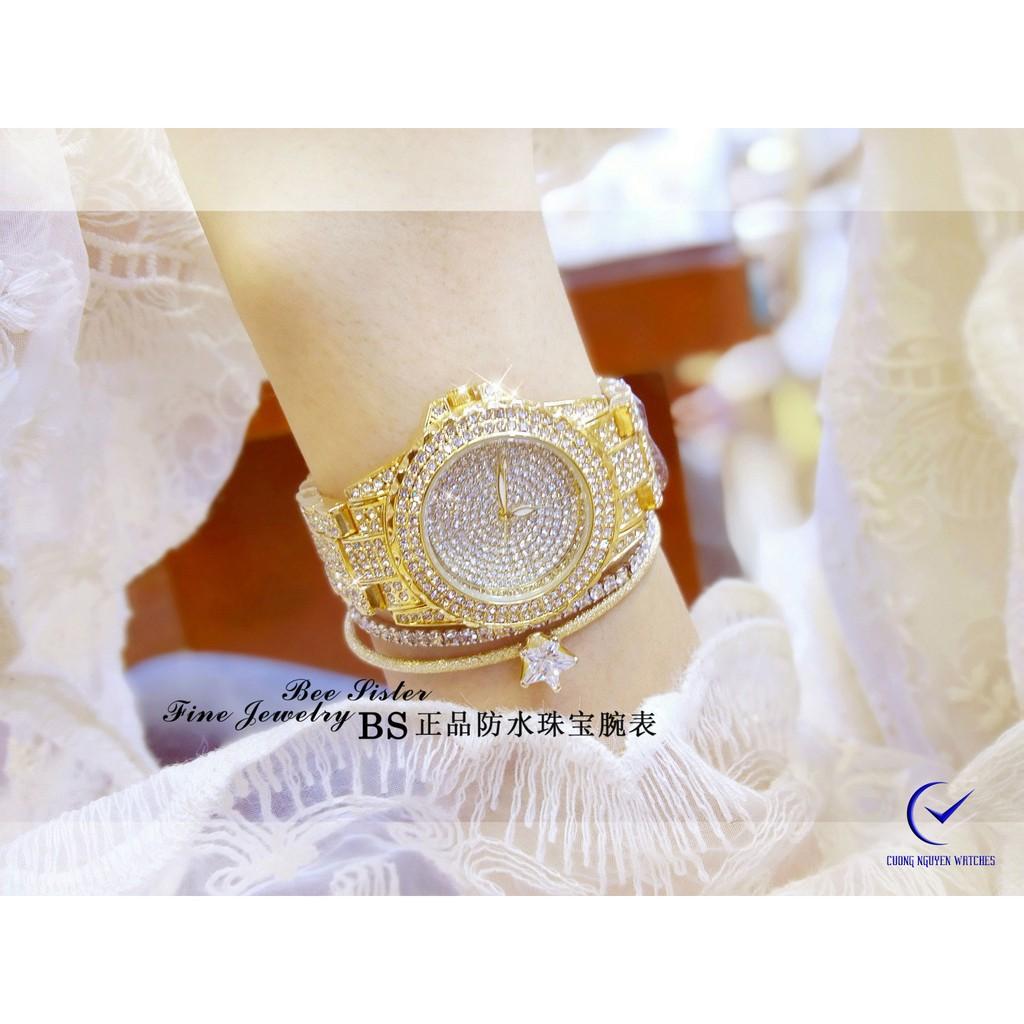 Đồng hồ nữ Bee Sister diamond phong cách luxury cho phái đẹp- BS17V- (Vàng)