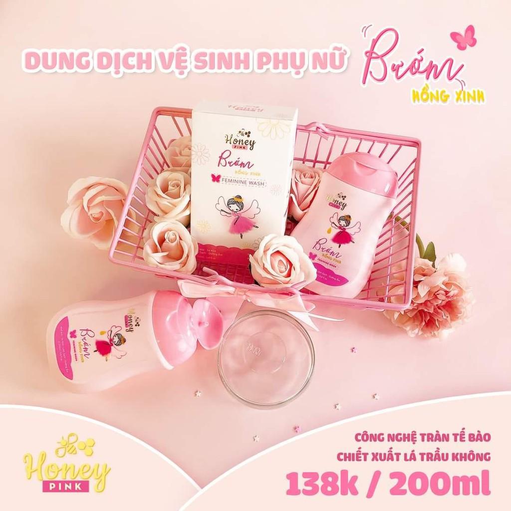 Dung dịch vệ sinh Hồng Xinh Honey Pink giá tốt