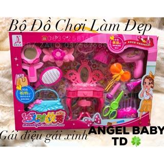 Bộ Đồ Chơi Trang Điểm Làm Đẹp Cho Baby Girl