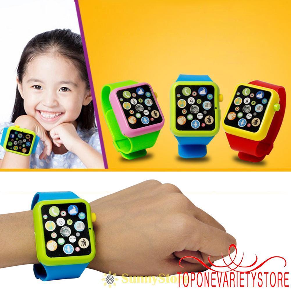 [ FAS ] Đồ chơi đồng hồ phát nhạc thông minh cho bé