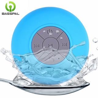 Loa bluetooth Basspal W22 mini kết nối không dây chống nước sử dụng khi tắm/bể bơi/xe hơi