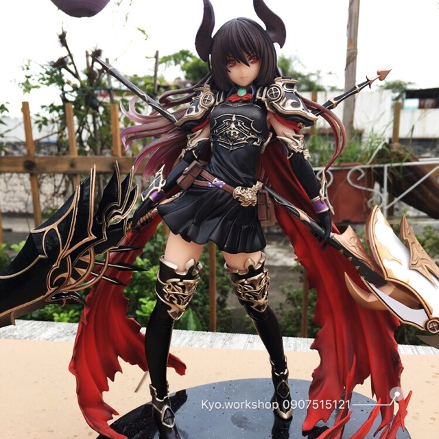 Mô hình figure nhân vật Deardragoon Forte và Dark Angel Olivia - phiên bản RoB