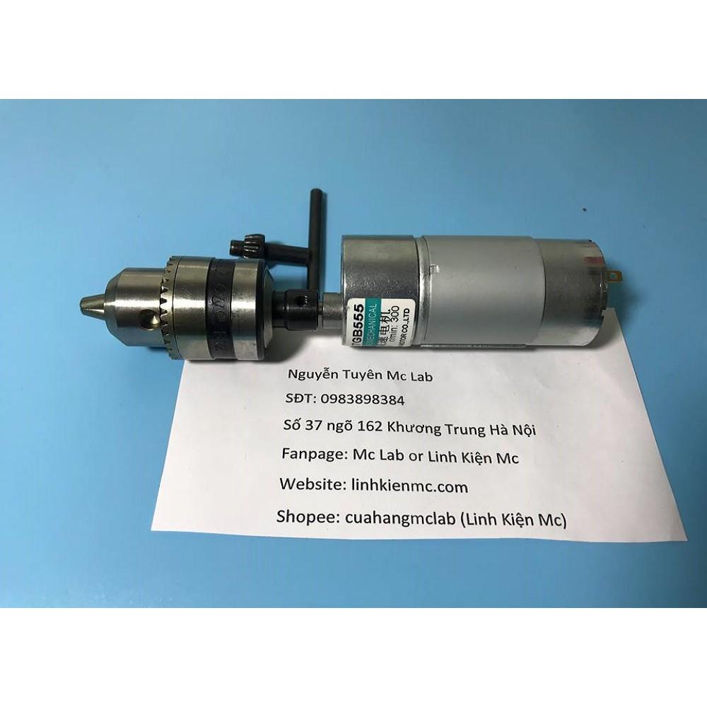 Combo chế máy bắt vít sử dụng motor Rs555 300rpm