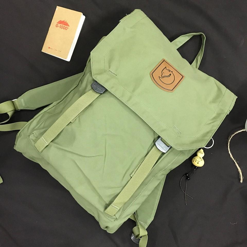 Balo Fjallraven Foldsack No. 1 Green