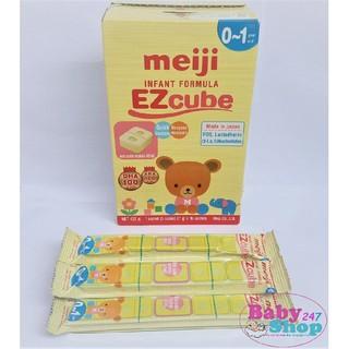 [bán lẻ] Sữa meiji số 0 dạng thanh lẻ 27g thanh (hàng nhập khẩu) hàng tốt giá rẻ thumbnail