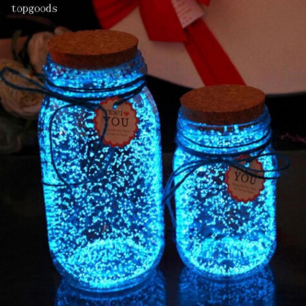 s Beautiful Fluorescent Sand Wishing Bottle Decoration topg