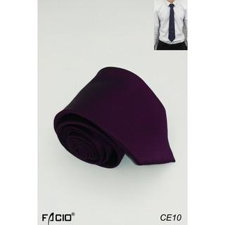 Cà vạt tự thắt, cà vạt nam bản 8cm Facioshop CE10-CF10-CFF10-CG10