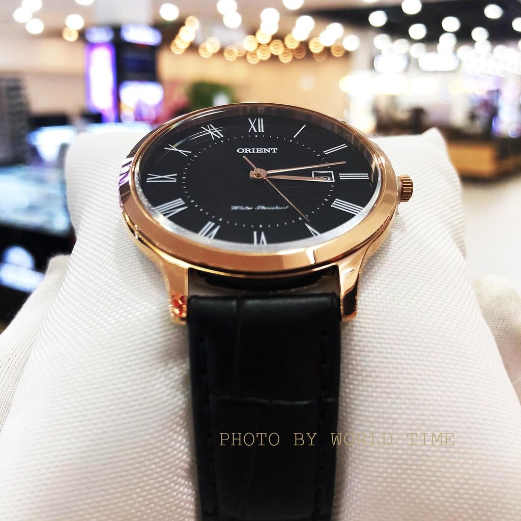 Đồng hồ nam dây da Orient RF-QD0007B10B , chính hãng full box , quartz , chống nước