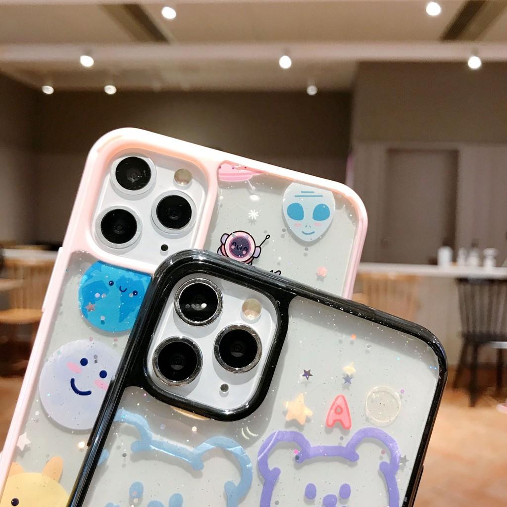 Ốp lưng iphone Cartoon Space 5/5s/6/6plus/6s/6s plus/6/7/7plus/8/8plus/x/xs/xsmax/11/11pro/11 promax - Shin Case