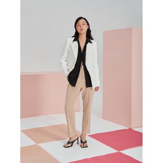 COCO SIN - Blazer Trắng Form Fit thumbnail