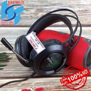 [Nhập mã ELMI01 giảm 10%]Tai nghe Gaming Zidli ZH6 3.5 - USB - LED - Mic dài phù hợp học online, voice chat