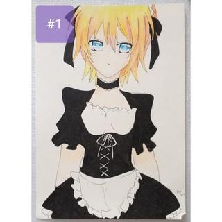 Tranh Vẽ Theo Yêu Cầu Style Anime Manga