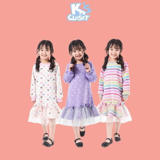 Váy Dài Tay Dành Cho Bé Gái (2 - 9 Tuổi) K's Closet E128TEF TM